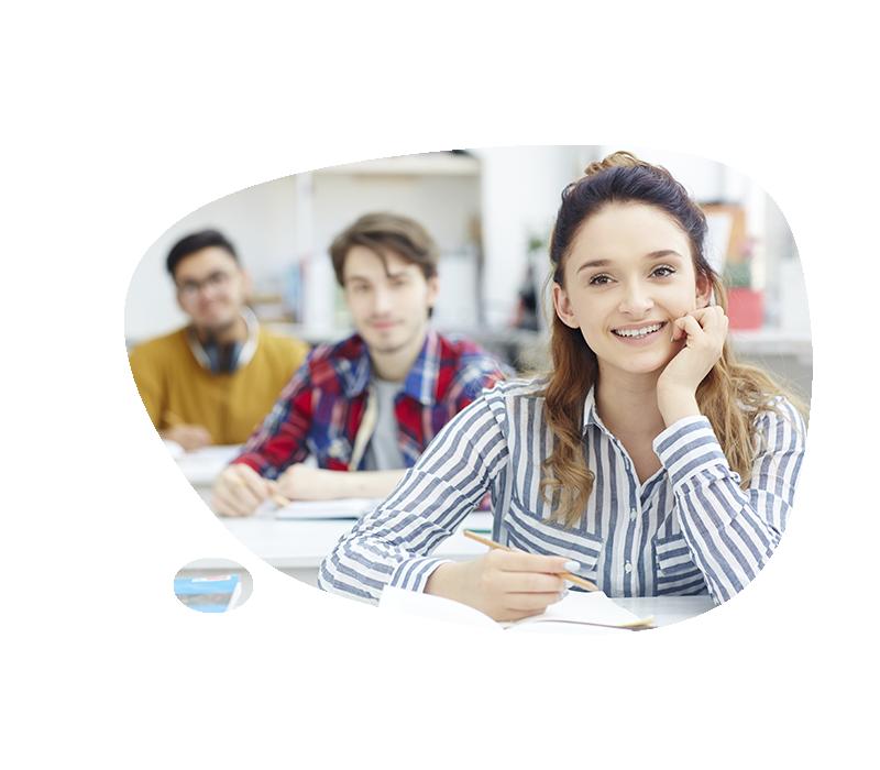 test inglés online academia